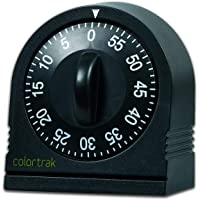 Colortrak - Temporizador de 60 minutos, color negro