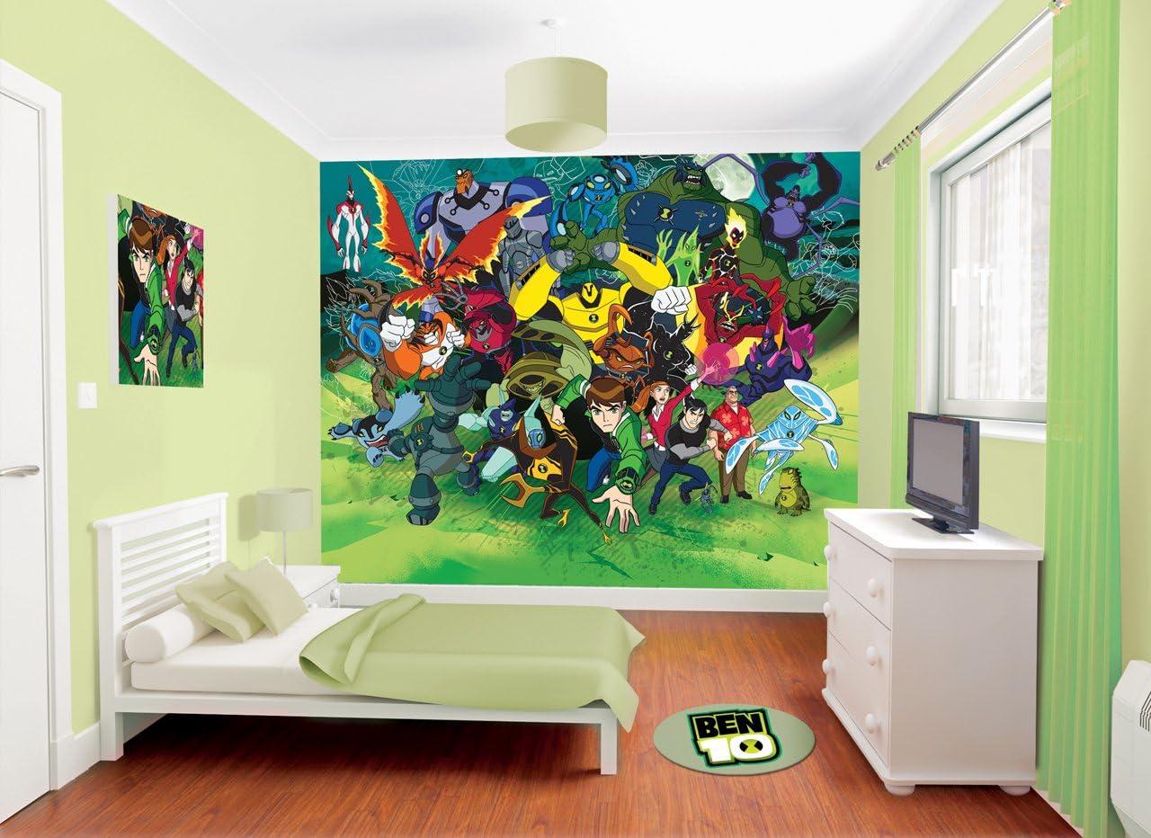 Walltastic Ben 10 Ultimate Alien Wallpaper Mural 8 X 10 Ft