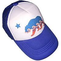 Sol Baby California Bear Blue Infant/Kids Trucker Hat