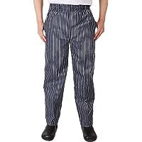Insun Hombre Pantalones de Cocinero Pantalón Elástico