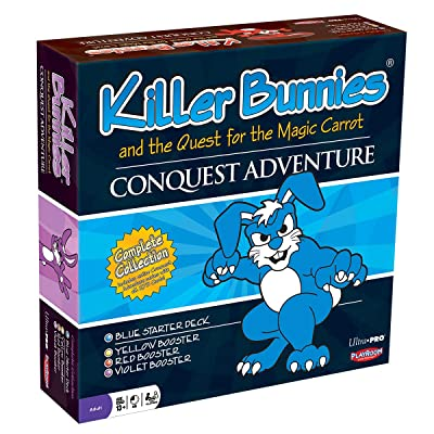 Ultra Pro Killer Bunnies and The Quest for The Magic Carrot - Conquest Adventure: Toys & Games