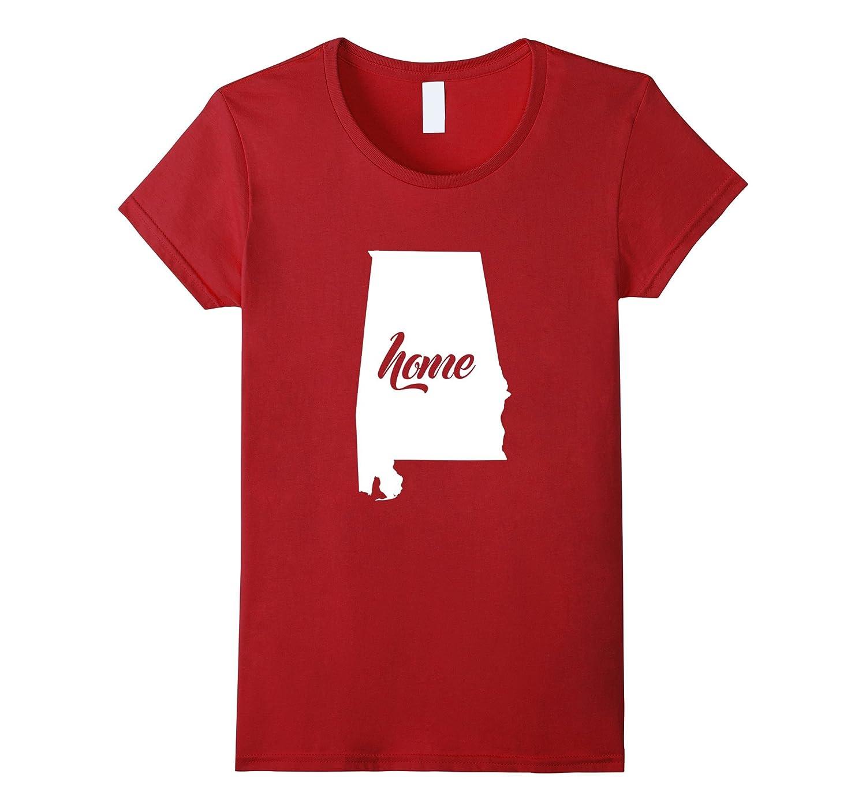 Home Sweet Home Tees: My Home Is Alabama T-Shirt-Teehay