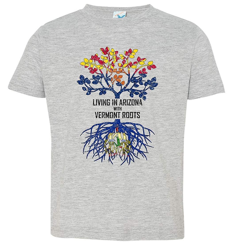 Tenacitee Babys Living in Arizona Vermont Roots Shirt