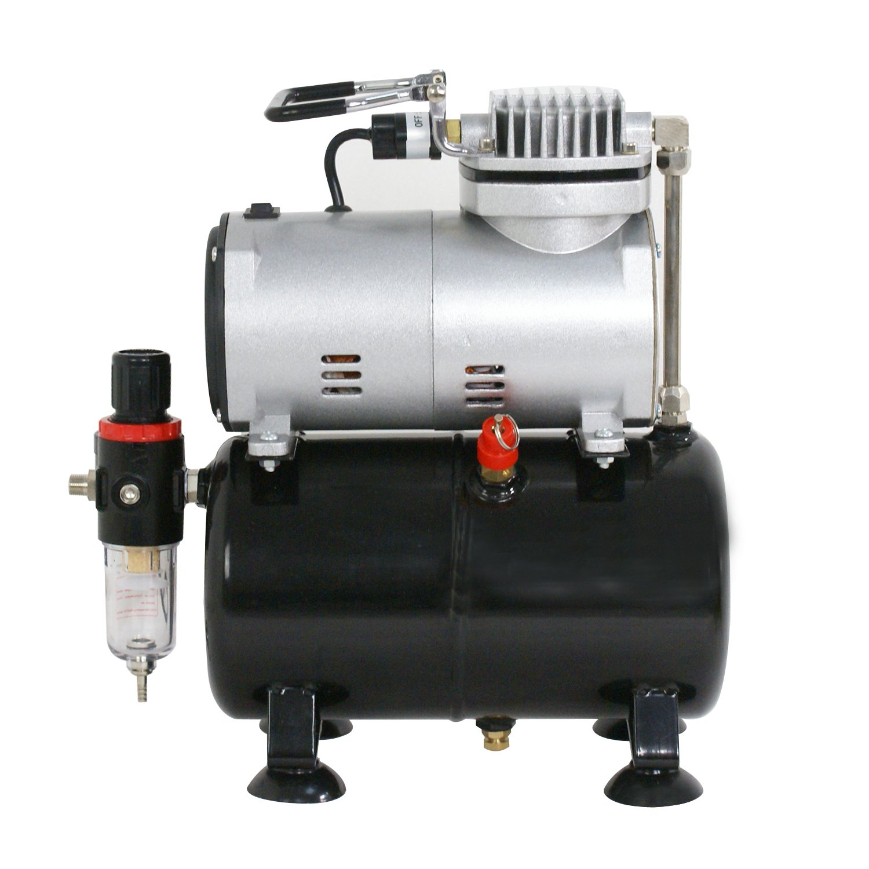 Amazon.com: Zeny Compresor De aerógrafo tanque de aire ...