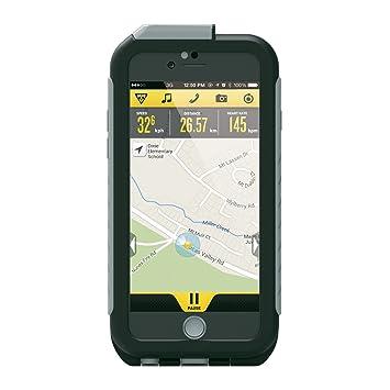 Topeak RideCase – Carcasa para iPhone 6/6s con Soporte Negro/Gris