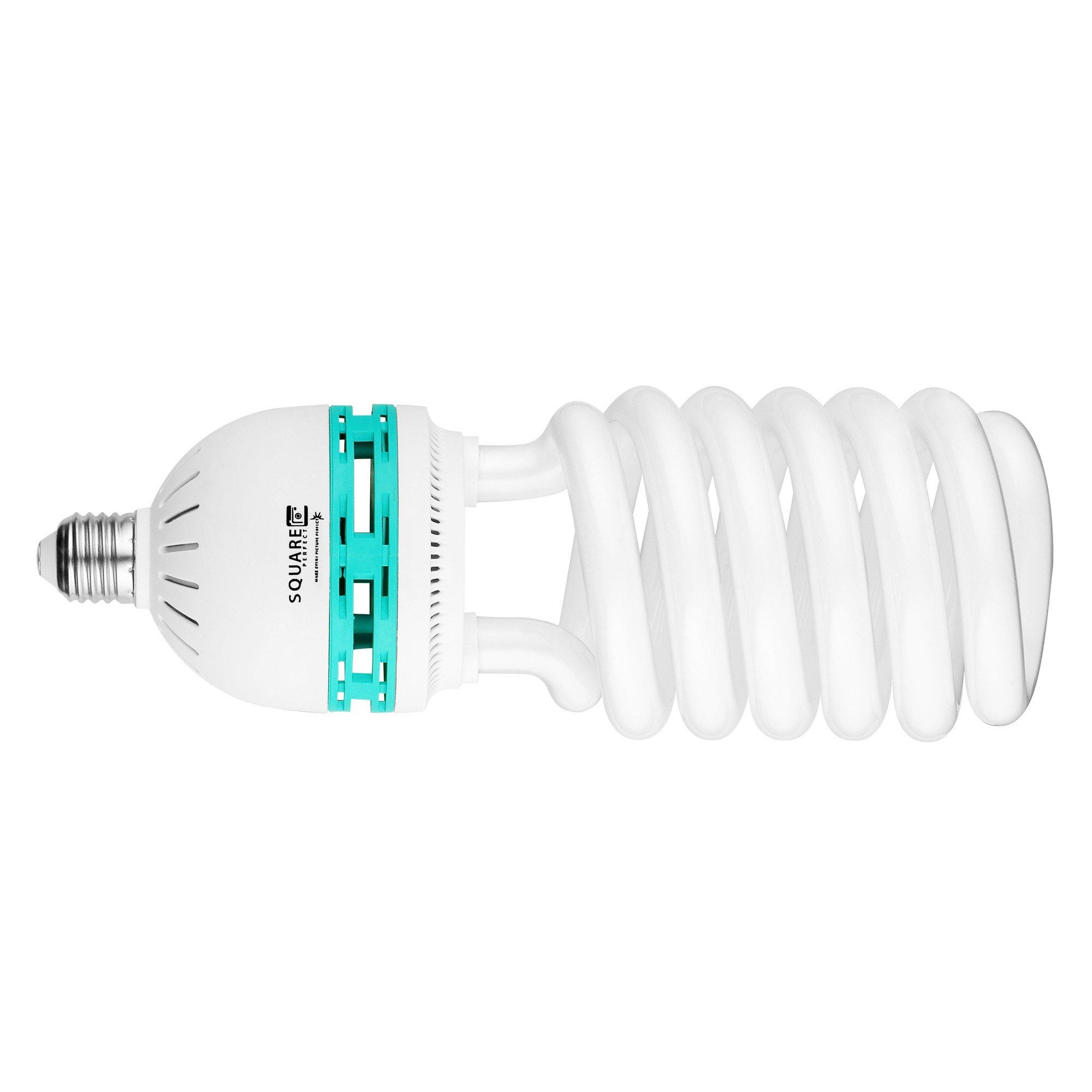 Square Perfect 3080 Professional Quality 100 Watt Compact Fluorescent Full Spectrum Photo Bulb