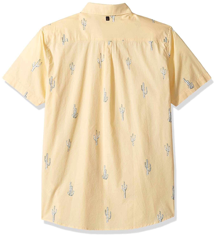 Rip Curl Mens Amigos Short Sleeve Button Up Shirt: Amazon.es ...