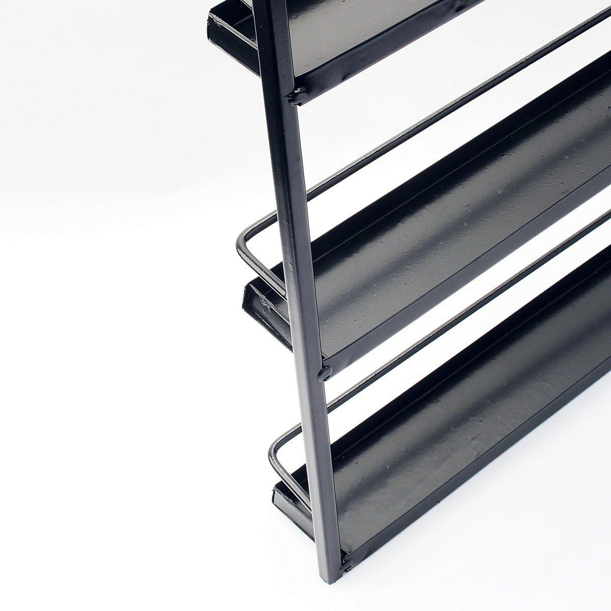 Wei/ß Dazone/® 5-tier Metall Herz Nagellack Organizer Aromatherapie und /ätherischen /Ölen Regal Lippenstiftst/änder Aufbewahrung
