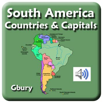 Amazon.com: South America Countries and Capital Cities: Appstore for on