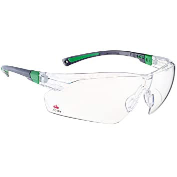 nocry safety glasses with clear anti fog scratch resistant wraparound lenses and no