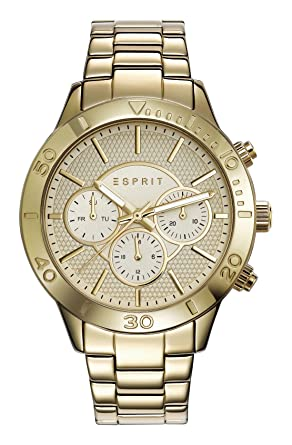 Amazon.com  Esprit Watch TP10886 Gold - ES108862002-Gold - stainless ... c658928736