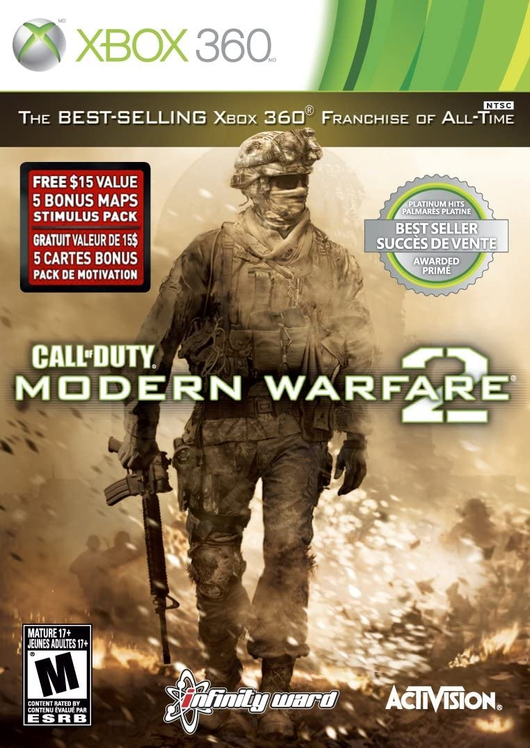 Amazon call of duty modern warfare 2 platinum hits xbox 360 amazon call of duty modern warfare 2 platinum hits xbox 360 video games gumiabroncs Gallery