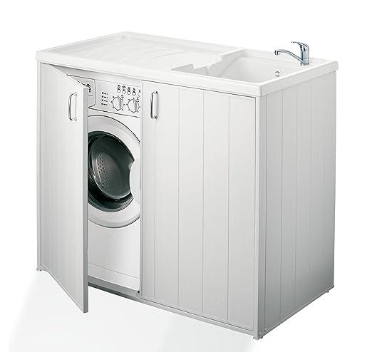 Negrari - 6008s Cubierta móvil y de lavado reversible, resina ...