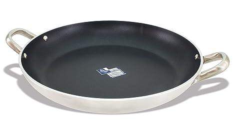Amazon.com: Crestware PAE12 Paella Pan, 12-Inch: Kitchen ...
