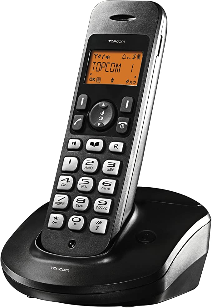 Topcom Butler E600 - Teléfono inalámbrico DECT: Amazon.es: Electrónica