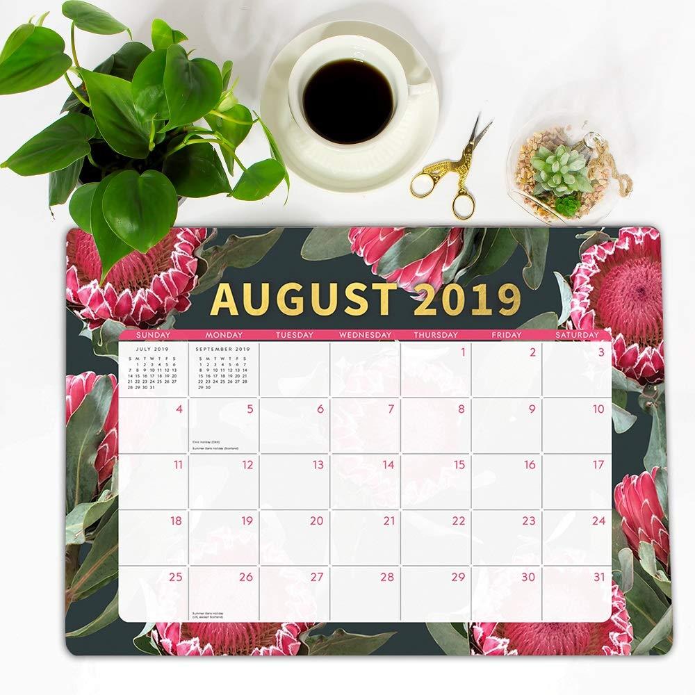 Orange Circle Studio 2020 Decorative Desk Blotter August 2019 Floral Expressions December 2020