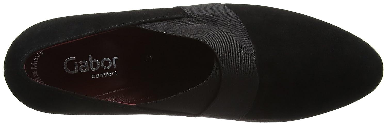 Gabor Schuhes 52.162 Damen Geschlossene pumps Schwarz Schwarz Schwarz (Schwarz (Fu Rot) 47) 633faf
