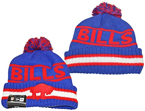 79e24dfb322 ... promo code buffalo bills classic new era vintage select pom knit beanie  hat cap f4f37 57bea