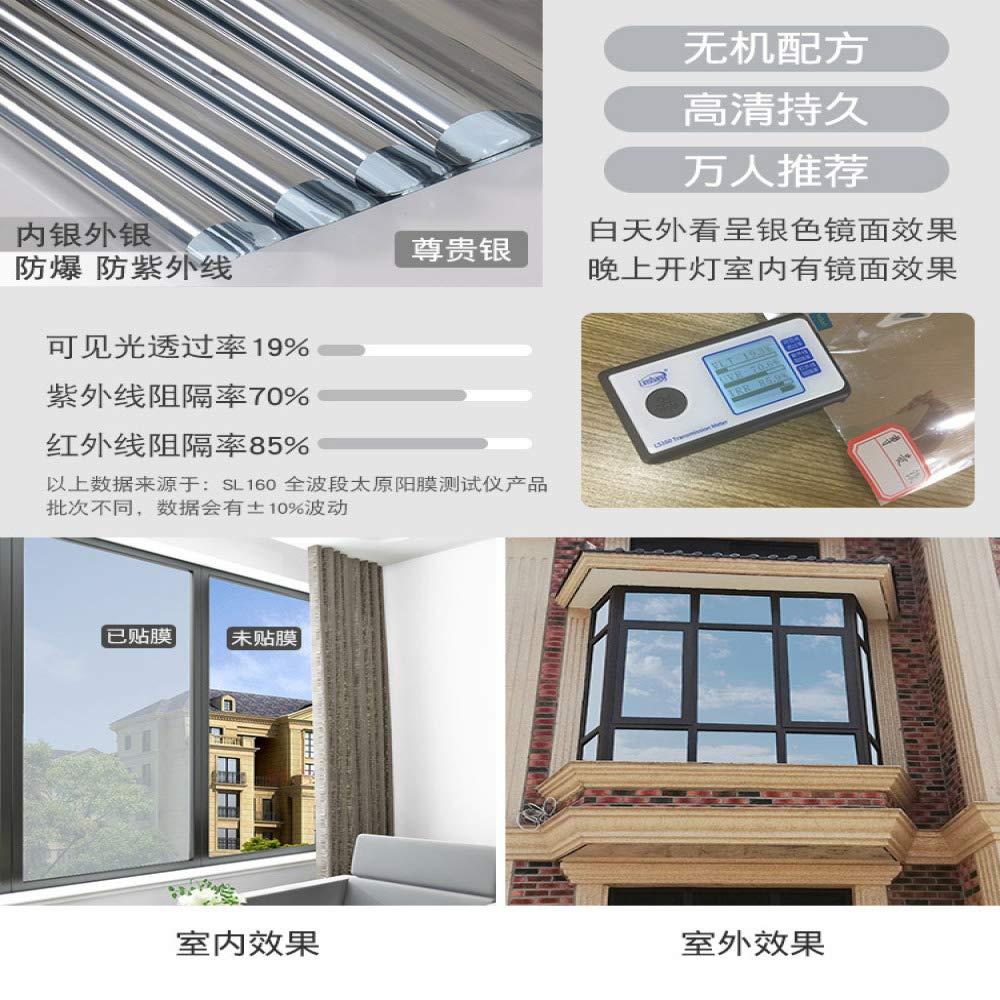 lsaiyy Perspectiva unidireccional Protector Solar película ...