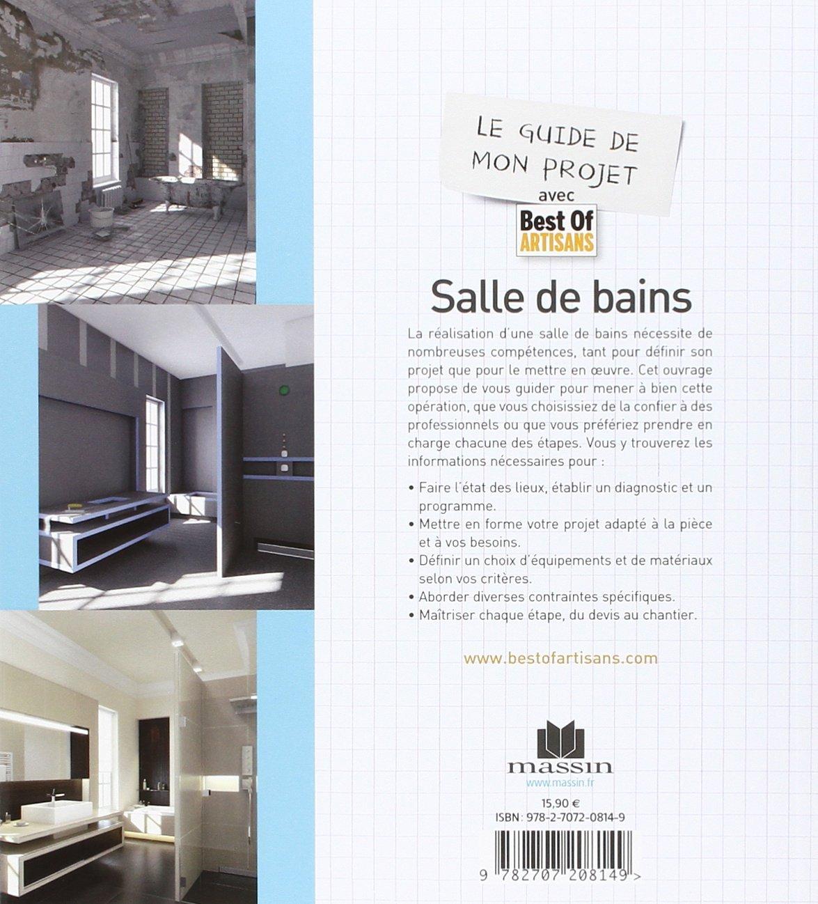 Devis Salle De Bain Artisan ~ amazon fr le guide de mon projet salle de bains plans devis