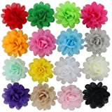 "Amazon Price History for:16pcs 2.4"" Handcrafts Beautiful Diy Chiffon Hair Flowers Clips For Baby Girl Headbands Teens Babies Toddlers Kids Children Infant Princess Bridal Birthday photography flower Accessories"