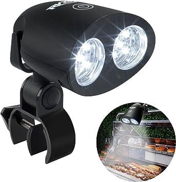 Amazon.com: RVZHI - Luz para parrilla de barbacoa, rotación ...