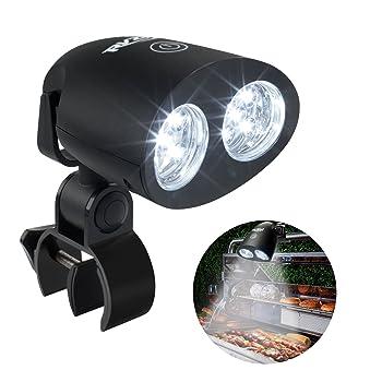 RVZHI 10 Super Bright LED Lights Grill Light