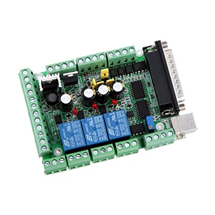 Amazon com : MagiDeal 4 Axis CNC MACH3 Breakout Board Adapter