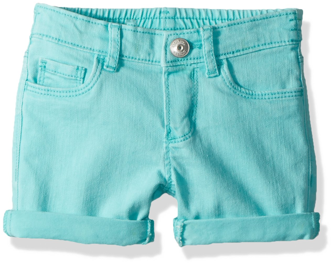 Osh Kosh Girls' Kids Shorts, Aqua Coast, 6-6X