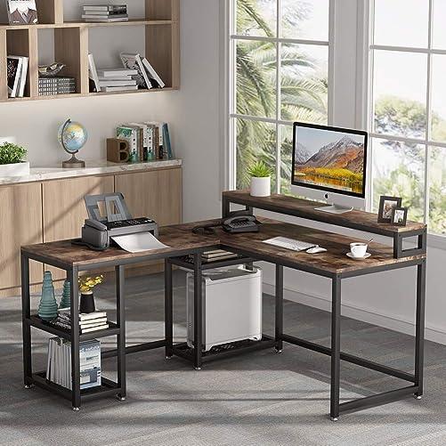 Tribesigns Reversible L-Shaped Desk