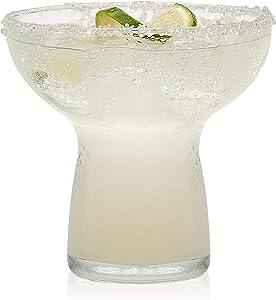 Libbey Stemless Margarita Glasses, Set of 6