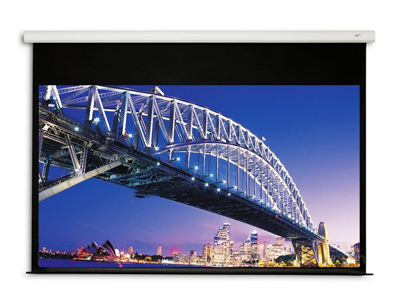 eGALAXY® 80 inch 16:9 ELECTRIC/MOTORIZED PROJECTOR SCREEN (MATTE WHITE) PSE80A eGalaxy®