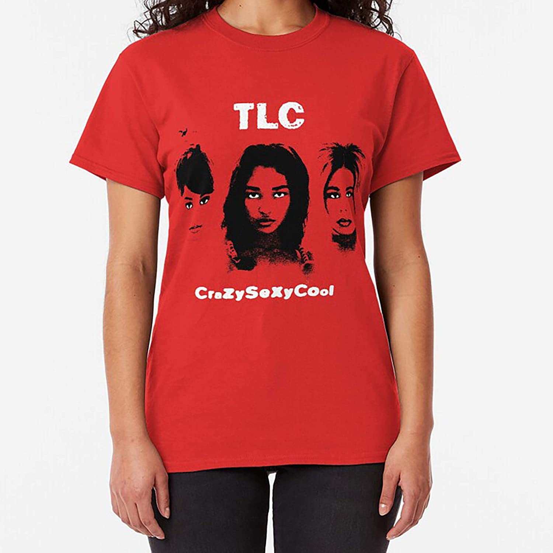 TLC CrazySexyCool Classic TShirt Sweatshirt For Mens Womens Ladies Kids Unisex Hoodie