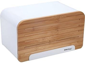 Panera elegante y moderna con cubierta de madera (tabla para ...