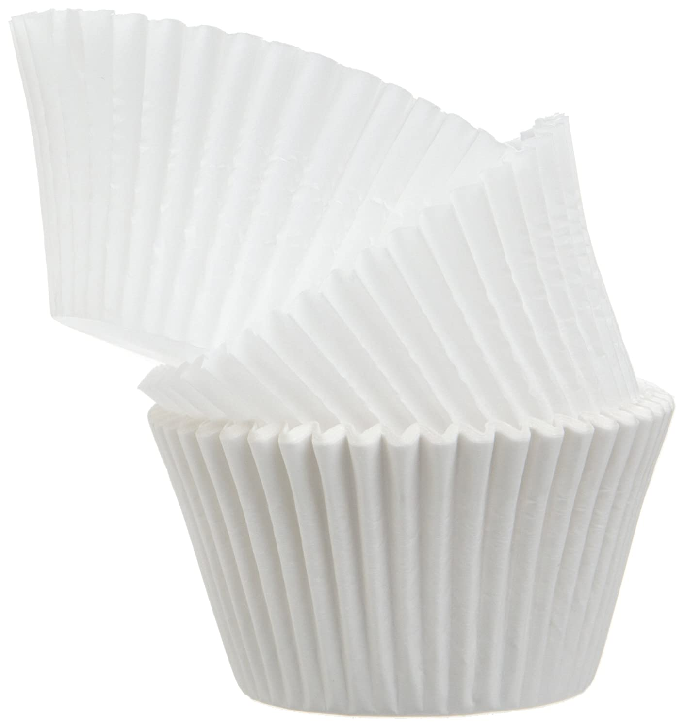 Regency Wraps Baking Cups for Cupcakes and Muffins, White Jumbo, 25 Count RW1115T