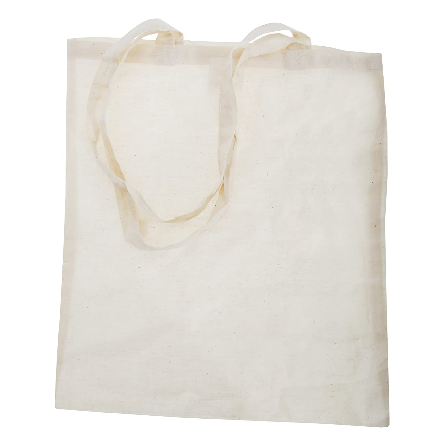 Plain Strong Shoulder Shopper Bag (One Size) (White) Universal Textiles UTRW2137_7