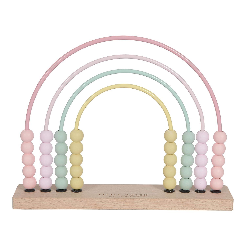 4456 Multicolore Little Dutch-LD4457 Abacos Jouet /éducatif