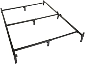 Amazon Basics 9-Leg Support Bed Frame - Strong Support for Box Spring and Mattress Set - Full