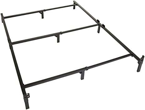 Amazon Com Amazon Basics 9 Leg Support Bed Frame Strong Support