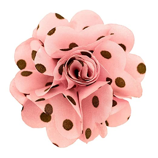 Amazon mens polka dot lapel flower pin clothing mens polka dot lapel flower pin mightylinksfo