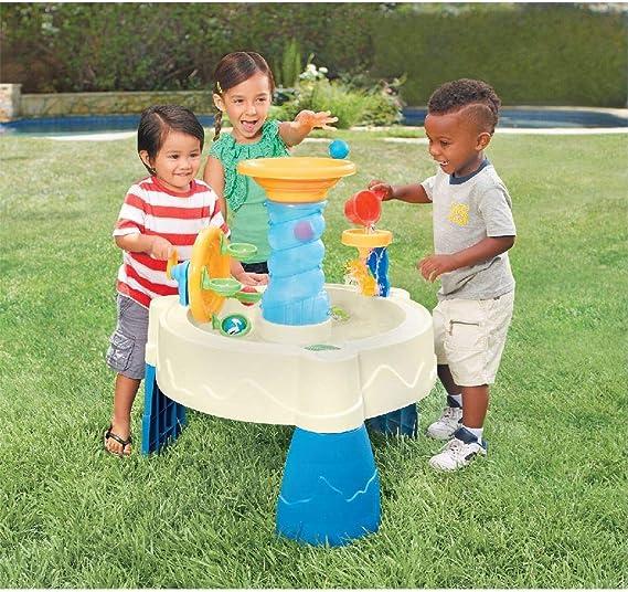 little tikes Mesa de Juego de Agua Spiralin Seas 620300 Juguetes Acuáticos Educación Infantil Niños Pequeños Hogar Deporte Actividades Casa: Amazon.es: Juguetes y juegos