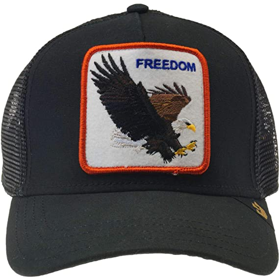 Goorin Bros. Mens Freedom Trucker Cap Baseball Cap - Black -  Amazon ... e916c4d5e245