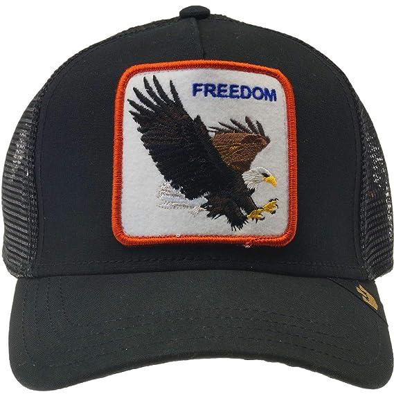 03b3430448 Goorin Bros. Mens Freedom Trucker Cap Baseball Cap - Black -  Amazon ...