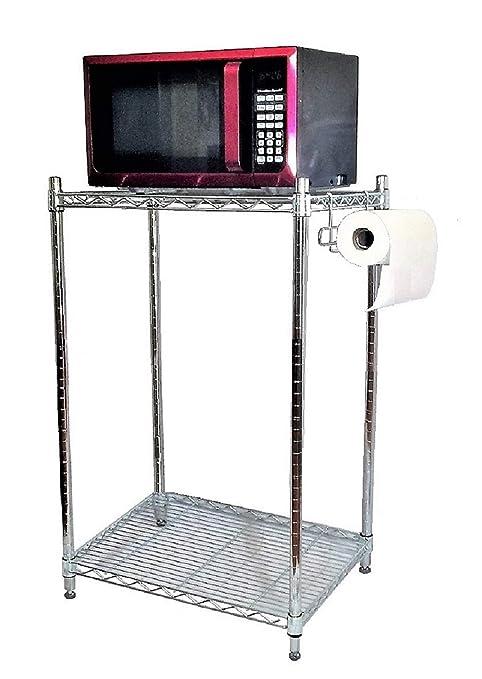 Amazon.com: Mini mueble de almacenamiento para nevera con 2 ...