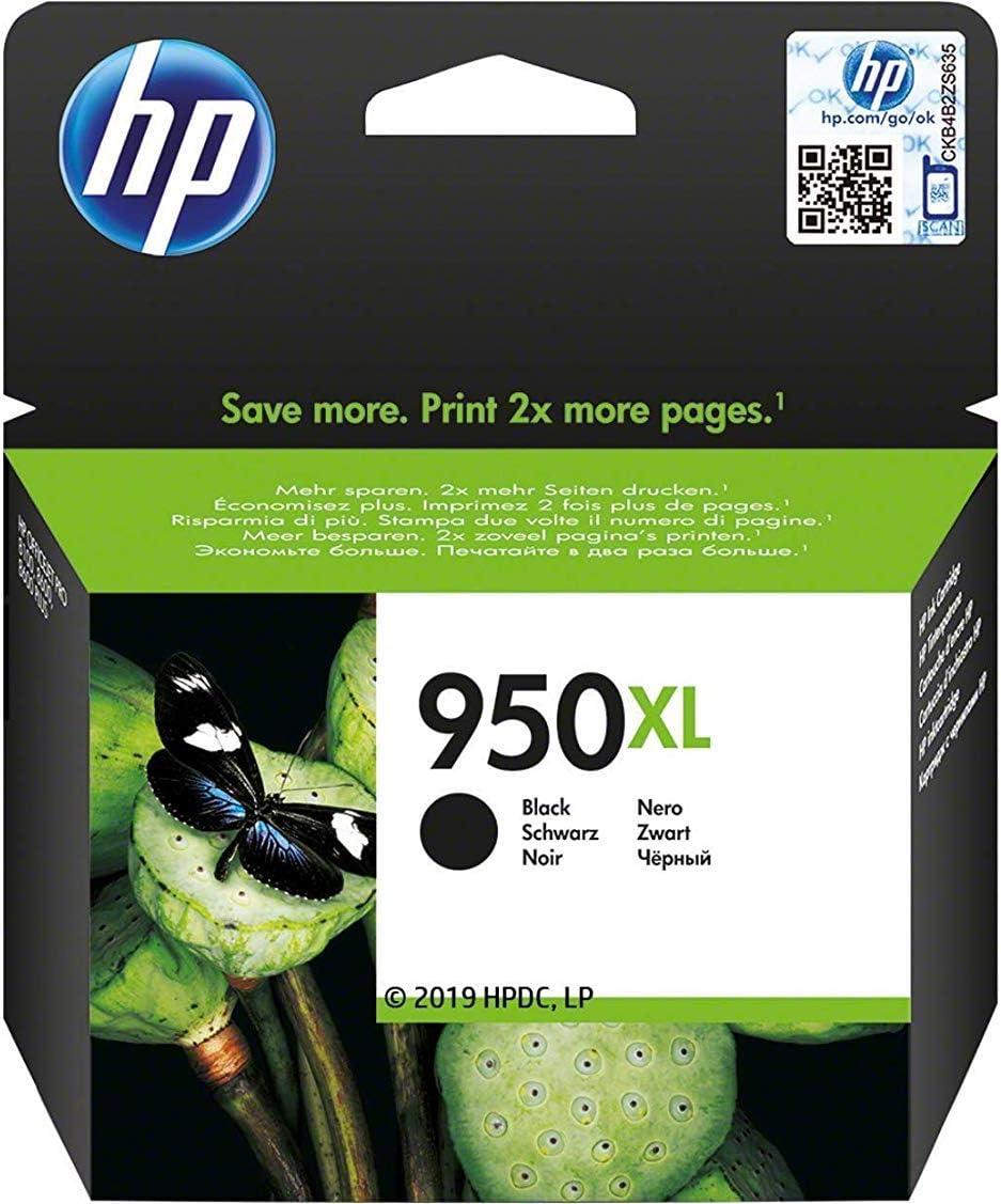 HP CN045AE 950XL Cartucho de Tinta Original de alto rendimiento, 1 ...