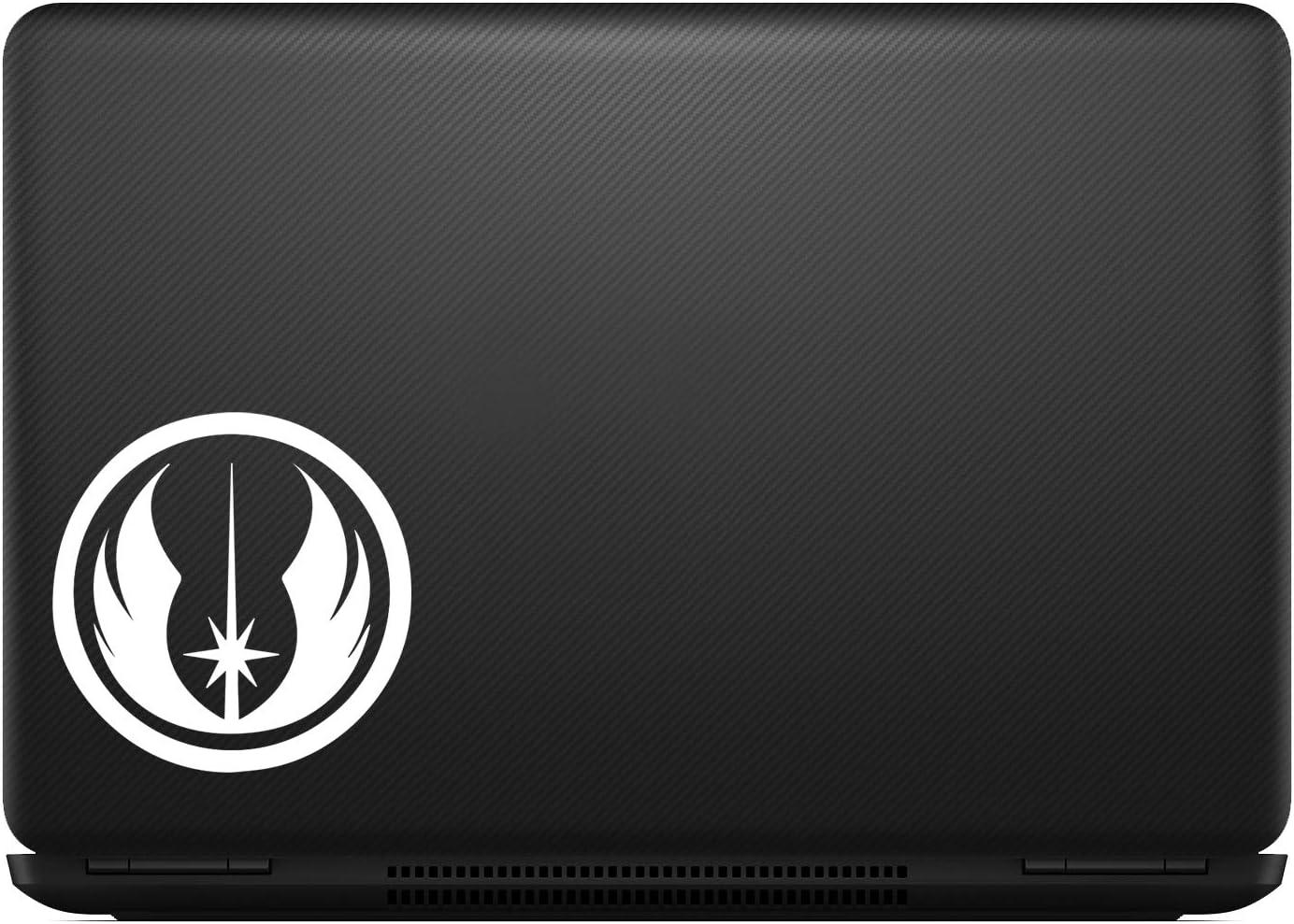 White Jedi Order Sticker Decal Notebook Car Laptop 5 Bargain Max Decals