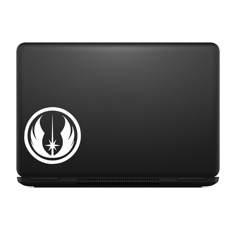 Bargain Max Decals White BM-MPR-100 Jedi Order Sticker Decal Notebook Car Laptop 5