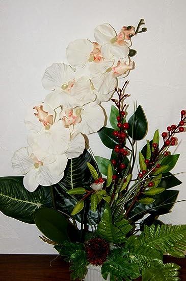 Tatjana Land Deko Orchideen Im Topf Kunstblume Tischdeko Kunstliche