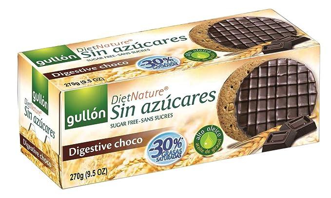 galletas chocolate sin azucares