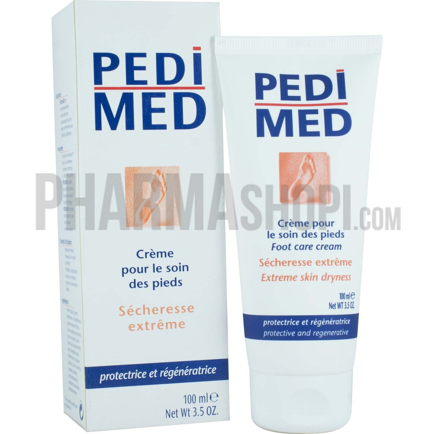 Pedimed DM Foot Care Cream 100ml 3577051576954